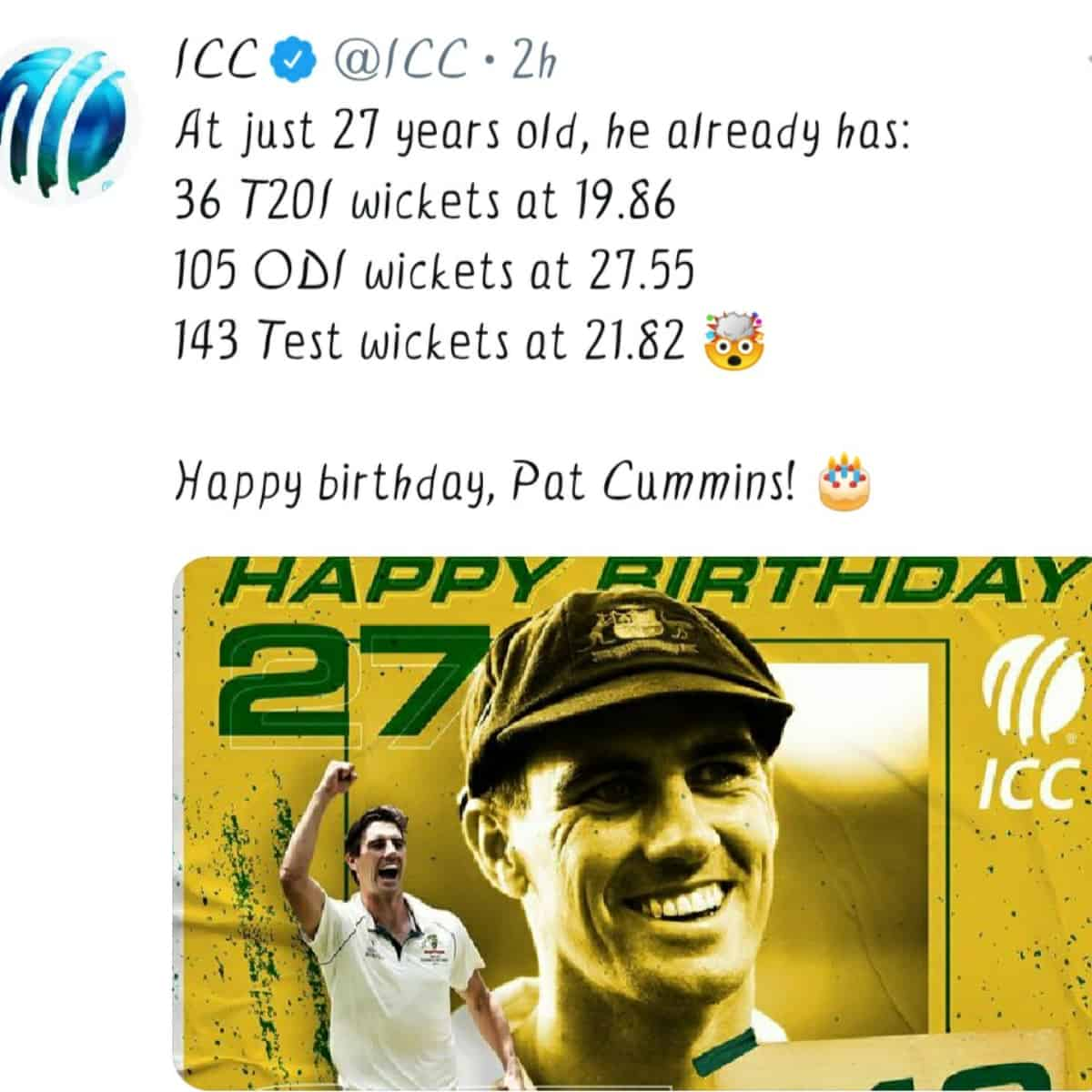 Lesser Known Facts About Pat Cummins: Birthday Special