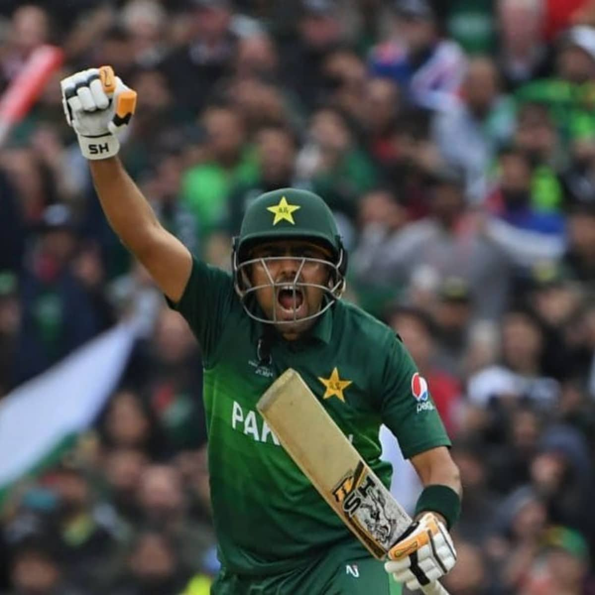 Babar became the captain of Pakistan's ODI team, 17-year-old Nasim got a place in the central contract