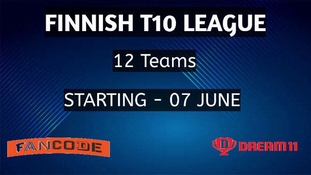 Finnish T10 League   Schedule, Squads, Timings and Live Streaming