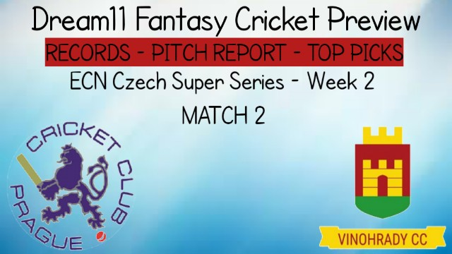 PCK vs VIR | Match 2,ECN Czech Super Series T10 Week 2 | Today Match Prediction and Players Records