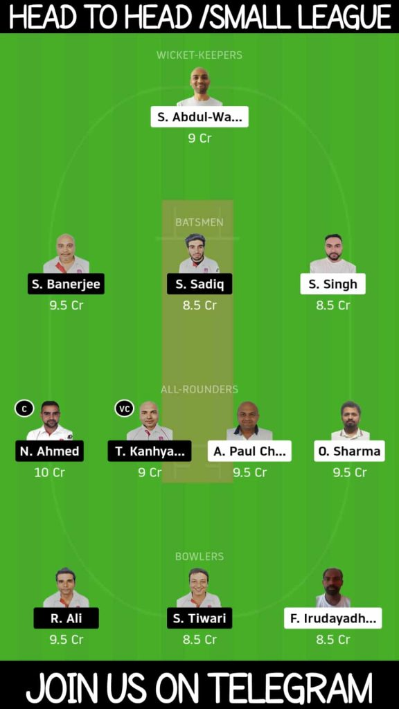 MCC vs BRG | Match 5, ECN Czech Super Series T10 | Dream11 Today Match Prediction and Players Records