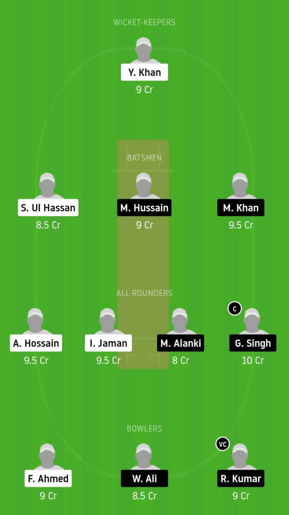 NCT vs CYM   Match 12,ECS T10 Cyprus   Dream11 Today Match Prediction and Players Records
