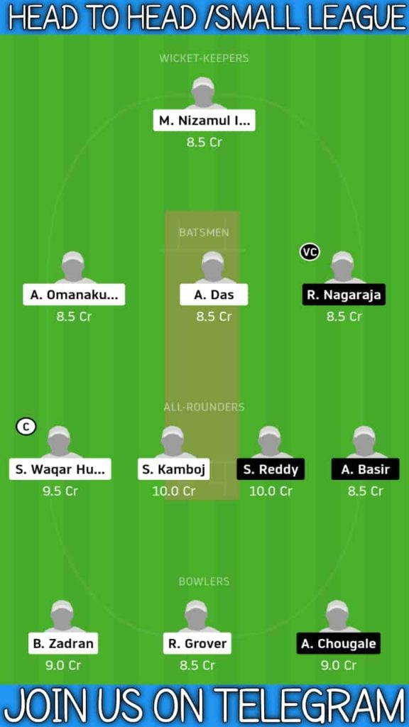 RCD vs USGC   Match 1, ECS T10 Dresden   Dream11 Today Match Prediction and Players Records