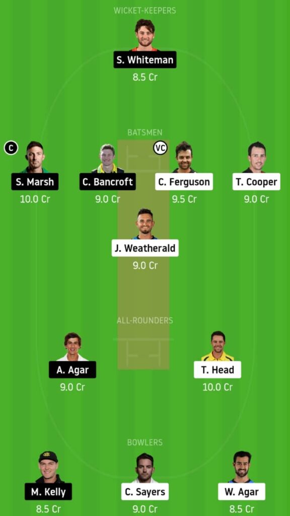 SAU vs WAU Dream11 Today Match Prediction and Fantasy Tips: Pitch Report, Playing XI & Players Record - Sheffield Shield 2020,Match 1
