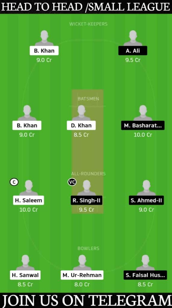 BSH vs UCC Dream11 Today Match Prediction & Players Record   Match 1, European Cricket Series T10 Barcelona 2020