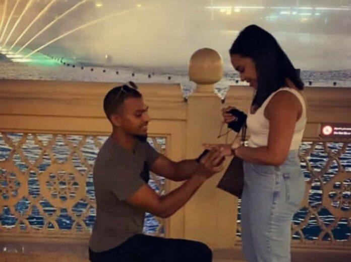KXIP's star Batsman Nicholas Pooran engaged to girlfriend Alyssa Miguel