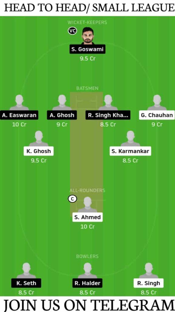 TMC vs EBC Prediction, Dream11 Fantasy Tips, Playing XI & Players Record | Match 3, Bengal T20 2020