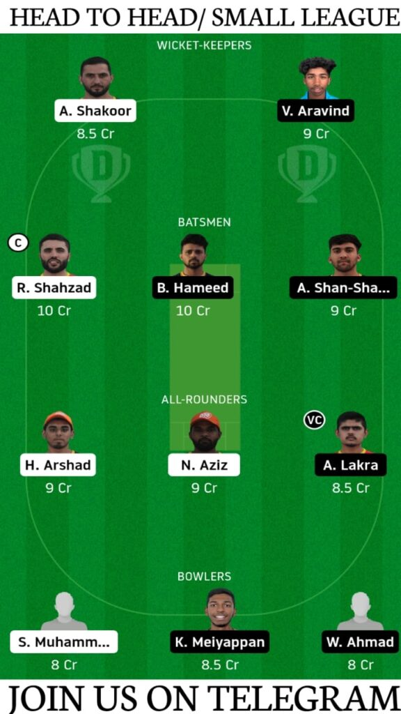 AJM vs ECB Dream11 Prediction, Fantasy Cricket Tips, Playing XI, Pitch Report and Players Record   Match 8, Dream11 Emirates D20 Tournament 2020