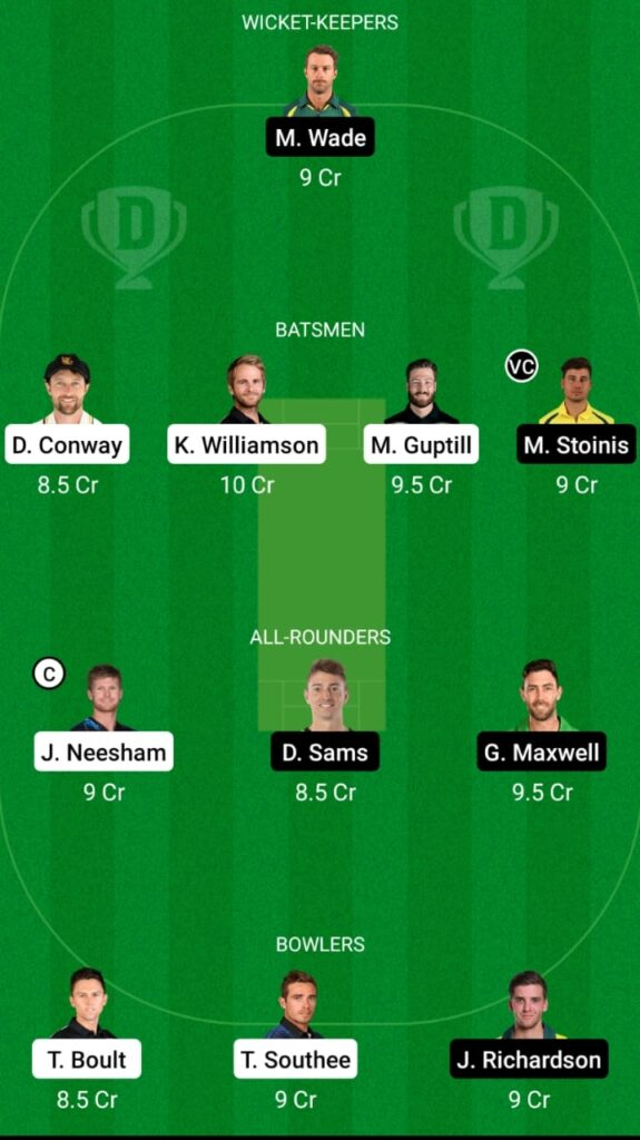 NZ vs AUS 3rd T20I Dream11 Match Prediction, Fantasy Cricket Tips, Head To Head Record, Playing XI and Pitch Report — New Zealand vs Australia T20I Series 2021