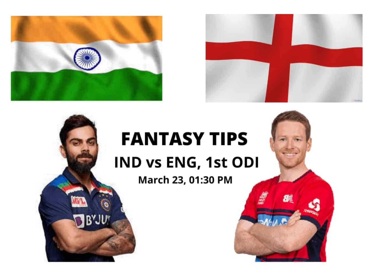 IND vs ENG 1st ODI Dream11 Match Prediction, Fantasy Cricket Tips, Head To Head Record, Playing XI and Pitch Report — India vs England ODI Series 2021