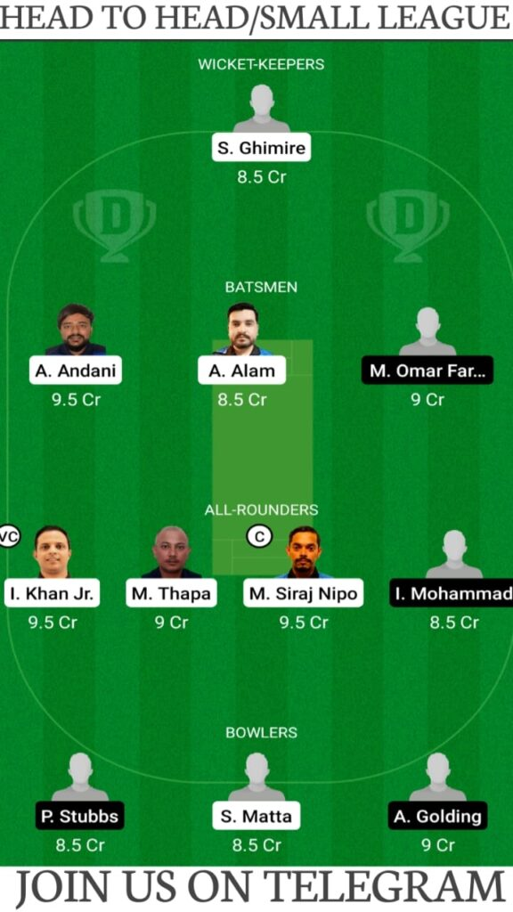 GOR vs MD Dream11 Match Prediction, Fantasy Cricket Tips, Players Stats, Playing XI and Pitch Report — Match 13, Fancode Portugal T10 2021