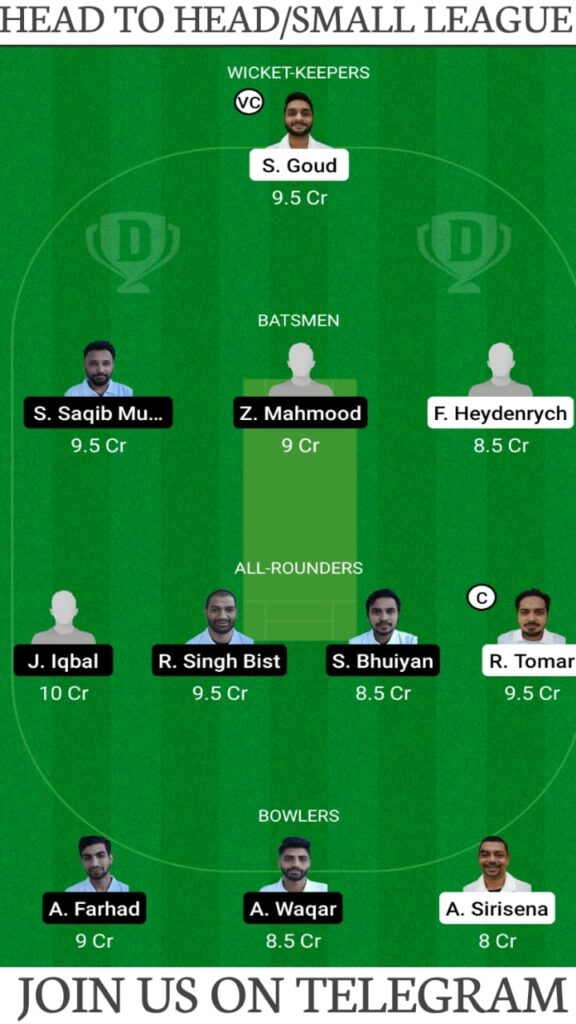 VCC vs BCC Dream11 Match Prediction, Fantasy Cricket Tips, Players Stats, Playing XI and Pitch Report — Match 1, Fancode ECS T10 Prague 2021