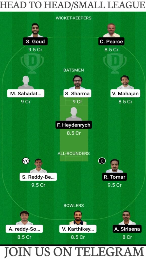 PSM vs VCC Dream11 Match Prediction, Fantasy Cricket Tips, Players Stats, Playing XI and Pitch Report — Match 2, Fancode ECS T10 Prague 2021