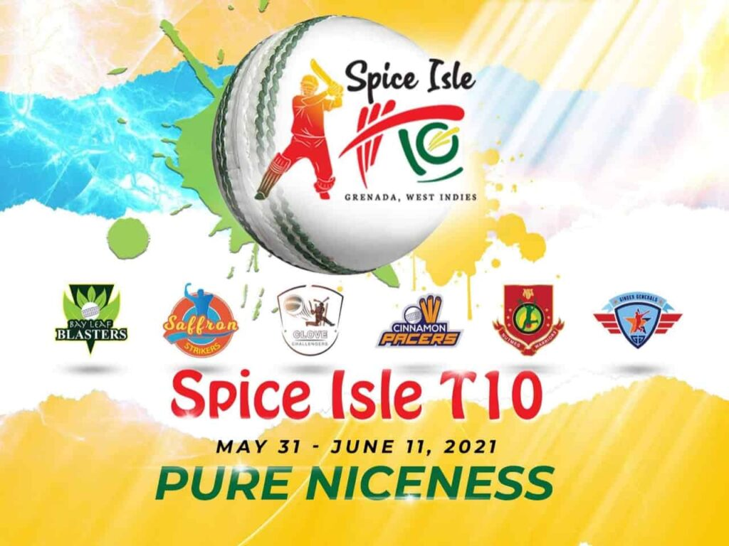 Spice Isle T10 2021: know about the Full Squad, Schedule, Venue, Timings and Live Streaming Details