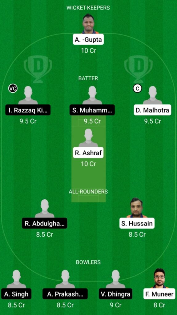 MAM vs LAN Dream11 Match Prediction, Players Stats, Fantasy Team, Playing XI and Pitch Report — Match 25 and 26, ECS T10 Malmo 2021