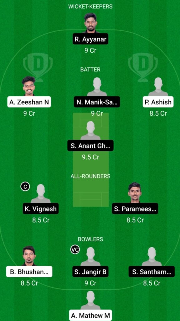 PAN vs LIO Dream11 Match Prediction, Players Stats, Fantasy Team, Playing XI and Pitch Report — Match 10, Pondicherry T20 2021