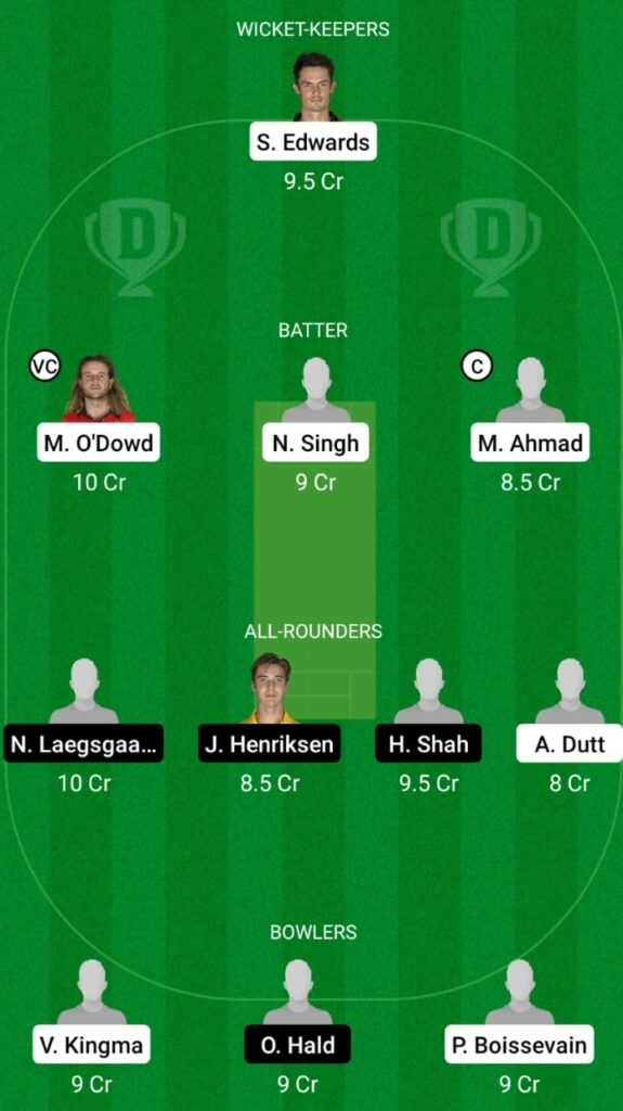 NED-A vs DEN Dream11 Match Prediction, Players Stats, Fantasy Team, Playing XI and Pitch Report — Match 2 and 3, Netherlands A vs Denmark T20I 2021