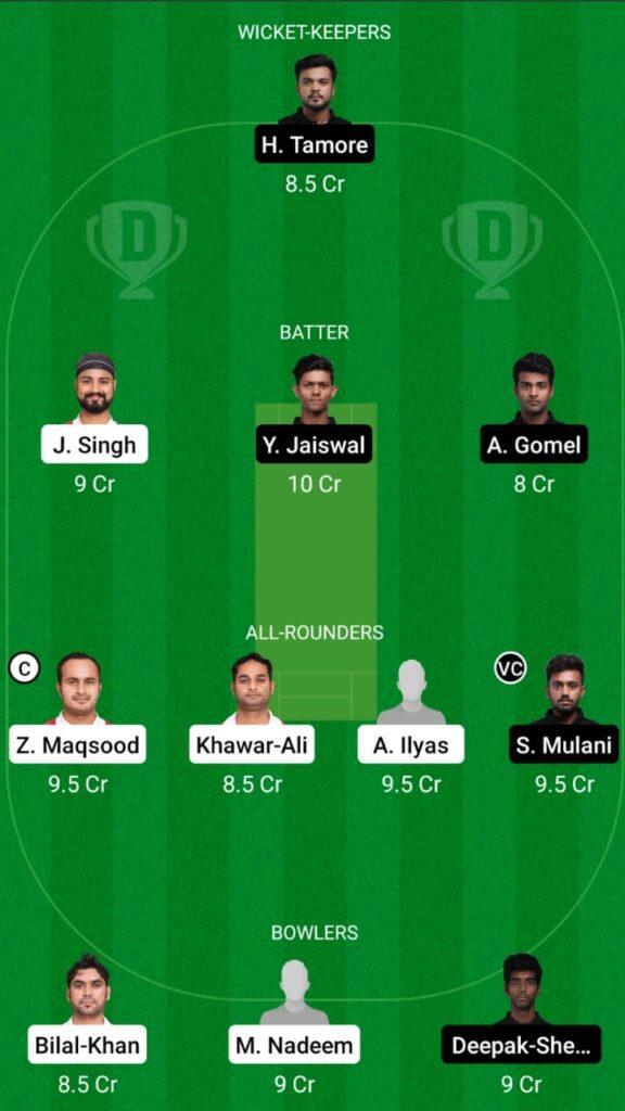 OMN vs MUM Dream11 Match Prediction, Players Stats, Fantasy Team, Playing XI and Pitch Report — Match 2, Oman vs Mumbai T20